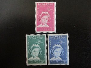 Morocco #32-34 Mint Never Hinged (L7H4) WDWPhilatelic