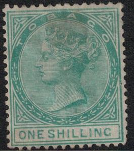 Tobago SC 4 Mint 1879 SCV$ 425.00
