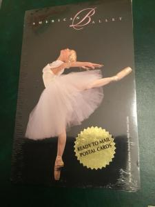"""ICOLLECTZONE US UX297 VF Postal Card Set of 10 """"American Ballet"""""""