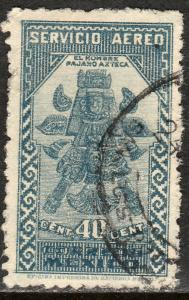 MEXICO C137, 40c 1934 Definitive. Birdman. USED. F-VF. (1110)