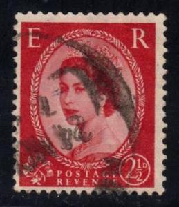 Great Britain #321 Queen Elizabeth II, used (0.25)