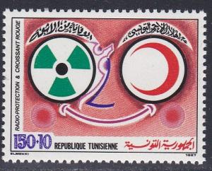 Tunisia # B160, Red Crescent Society, NH