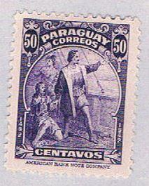 Paraguay 399 MLH Columbus 1943 (BP3079)