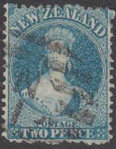 NEW ZEALAND 1864 Chalon 2d perf 12½ SG115 used ..............................770