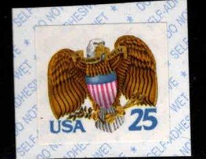 USA Scott 2431 Self Adhesive stamp MNH** on piece as shown