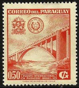Paraguay 1961 Scott# 574 MH