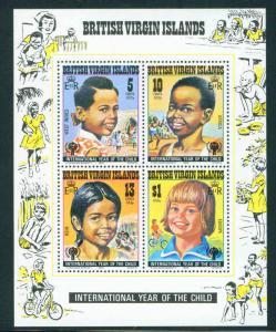 Virgin Islands Scott 359a MNH** IYC 1979 sheet