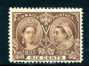 Canada #55 Mint F-VF NH