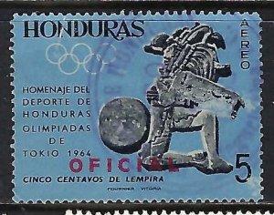 Honduras CO113 VFU J1076