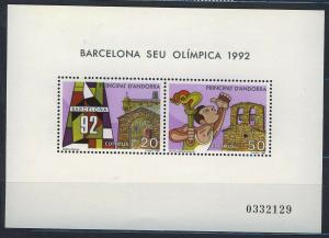 ANDORRA SPANISH 1987 MNH SC.180 Olympic Games Barcelona