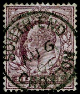 SG245 SPEC M31(1), 6d pale dull purple, FINE USED, CDS. Cat £20.