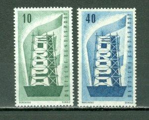 GERMANY 1956 EUROPA #748-49...SET...MNH...$7.30
