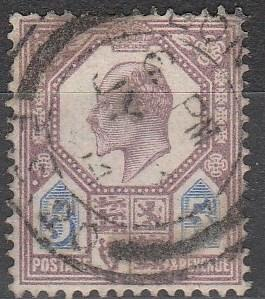 Great Britain #134 F-VF Used CV $22.50  (S1821)