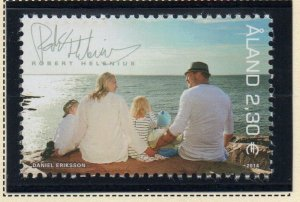 Aland Sc 359 2014 Helenius & Family stamp mint NH