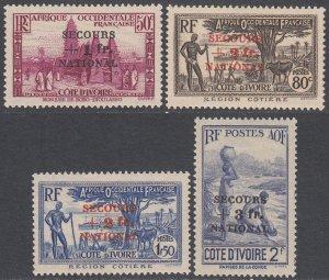 Ivory Coast B8-B11 MLH Spotty Gum CV $36.75