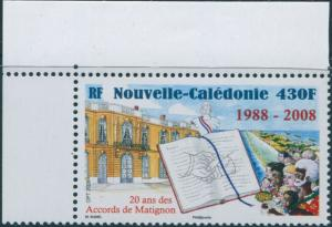 New Caledonia 2008 SG1444 430f Matignon Accords MNH