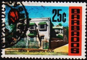 Barbados. 1970 25c S.G.409 Fine Used