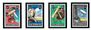 Ascension 385-88 MNH 1986 Halleys Comet