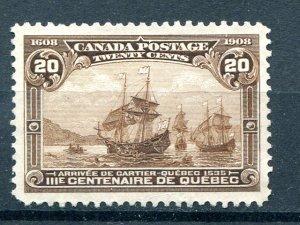Canada #103  Unused  XF  - Lakeshore Philatelics