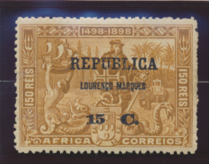 Lourenco Marques Stamp Scott #107, Mint Heavily Hinged - Free U.S. Shipping, ...
