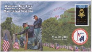 2015, Memorial Day, Waterloo NY, Maple Grove Cemetery, Birthplace, 15-118