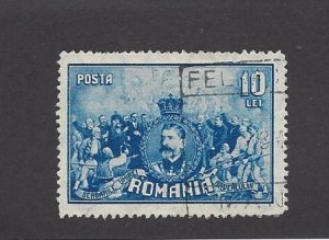 Romania, 352, King Ferdinand I Single, **Used**