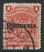 British South Africa Company opt Rhodesia SG101 SC# 83 Used   see details