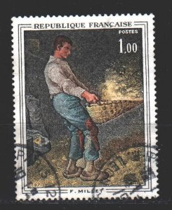 France. 1971. 1744. Paintings. USED.