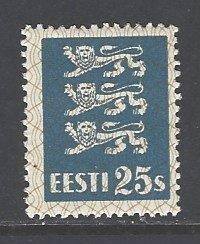 Estonia Sc # 101 mint hinged (DT)