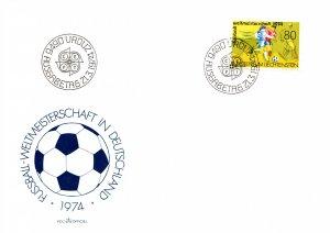 Liechtenstein, Sports, Worldwide First Day Cover