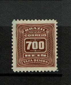 Brazil SC# J37 Mint No Gum - S7180