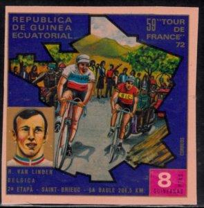 Equatorial Guinea, Sc 7369, MNH, 1973, Tour de France, (AA02053)