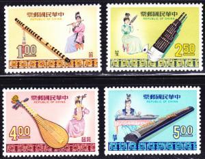 China Scott 1600-1603  complete set  F to VF mint OG NH.