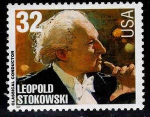 USA Scott 3158 MNH** Leopold Stokowski conductor