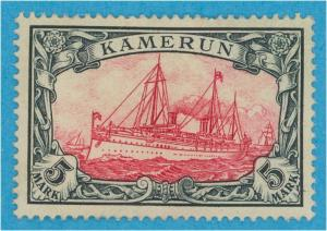 GERMAN COLONIES - CAMEROUN 19  MINT HINGED OG *  NO FAULTS VERY FINE !