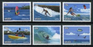 Aruba Sports Stamps 2018 MNH Watersports Water Sport Surfing Kayaking 6v Set