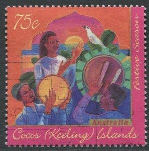 COCOS (KEELING) ISLANDS 1996 - 75c USED
