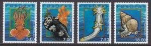 Faroe Islands, Fauna, Marine Life, Snails MNH / 2002