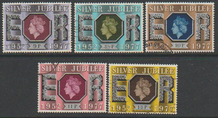 Great Britain SG 1033 - 1037 set Used