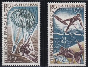 Afars and Issas C51-C52 MNH (1968)