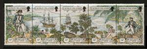 CAYMAN ISLANDS SG681a 1989 CAPTAIN BLIGH  MNH