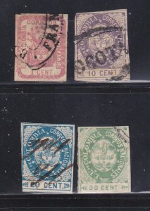 Colombia 35, 38-39, 41 U Coat Of Arms