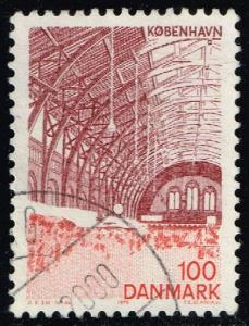 Denmark #588 Central Station; Used (0.25)