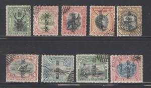 North Borneo 1901 Postage Due Scott # J11 - J19 Used