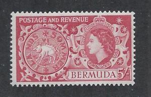 BERMUDA SC# 160 FVF/MLH 1953