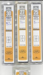 SCOTT MOUNTS, NEW OPEN MULTI PACK CLEARANCE, HIGH VALUE,see descript., SHIP INC.