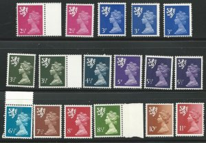 Scotland SMH1-SMH11  MNH/Mint