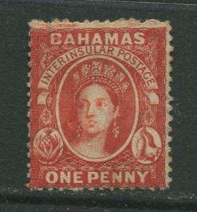 STAMP STATION PERTH Bahamas #? QV Definitive Wmk.2 Perf.14  MNG CV$?
