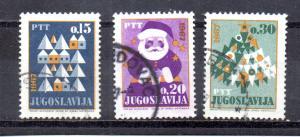 Yugoslavia 842-844 used