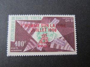 Burkina Faso 1969 Sc C69 space set MNH